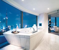 Cool Bathrooms Nyc the intercontinental hong kong | world's best hotel bath views