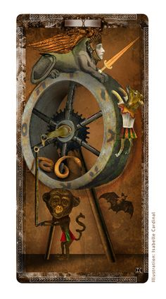 Wheel of Fortune by Isabelle Cardinal