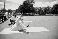 Lawn Games Perfect for a Summer Wedding | Intimate Weddings - Small Wedding Blog - DIY Wedding Ideas for Small and Intimate Weddings - Real Small Weddings