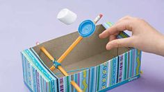 Chicago Tribune - How to make a marshmallow catapult