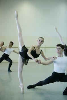 Olga Smirnova, Vaganova Academy of Russian Ballet.