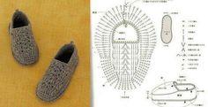 crochet tuto slippers (9)