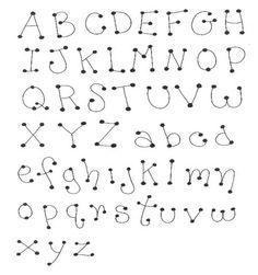 Free Printable Letters Size Alphabet  Bubble Letters Alphabet