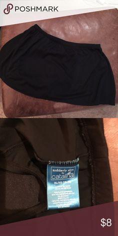 Catalina Swim Skirt Sz XL 16-18 Washed not worn catalina Swim