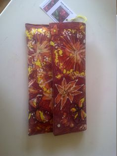 Summer Butterflies Batik Clutch Bag by ArtintheMakingBySara