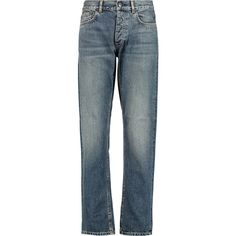 Acne Studios Boy high rise boyfriend jeans ($350) ❤ liked on Polyvore featuring jeans, high waisted jeans, high rise boyfriend jeans, loose boyfriend jeans, boyfriend jeans and vintage jeans