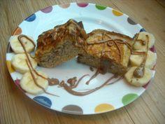 ... banana stuffed french toast recept yummly banana bread french toast