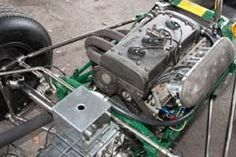 Lotus 48 Cosworth 48/1 Ford Cortina Block, 4 Valves per cylinder or FVA Head. Car debuted by G. Hill early 1967. Customers preferred the faster Brabham BT23 however.The Number of events held listed at Old Racing Cars.com