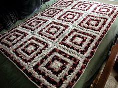 Groovy Loops afghan free pattern