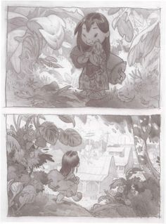 Lilo and Stitch concept art