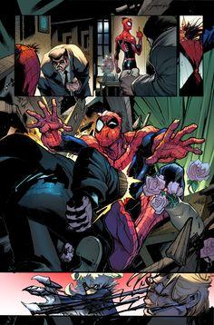 Venom Writers: Dan Slott and Mike Costa Artist: Gerardo Sandoval Spiderman Suits, Comics Online, Venom, Pose Reference, Artist, Movie Posters, Writers, Costa, Dan