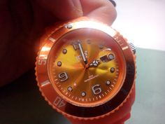 Oh dear! A customer watch that has been left in the sun (look for the hand imprints on the dial).