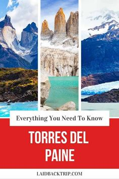 Torres del Paine Guide | Trekking in Torres del Paine, Chile is one of the best experiences when traveling in Patagonia. Read our guide on everything you need to know before hiking the famous one-day trek to the Towers or Grey Glacier and multi-day W, O or Q trek. | #torresdelpaine #patagonia #hiking #travelchile #guide