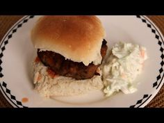 Buffalo Chicken Burgers - Recipe by Laura Vitale - Laura in the Kitchen Episode 282
