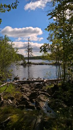 Ruunaa rapids, Lieksa, Finland. A very neat place for a geocache.