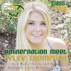 ▶ 2016 #MinerVB Recruiting Class: KYLEY THOMPSON   5-11   Outside Hitter   Geneva HS   Fusion VBC   Geneva, Illinois