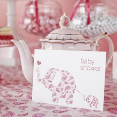 Pink Elephant Themed Baby Shower Theme Ideas for Girls, Boys, Gender Neutral, Gender Reveal
