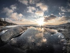 Northern Sun by Aleksi Lausti on 500px