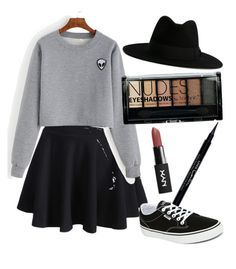 """""""Street look"""" by orossokhina on Polyvore featuring мода, WithChic, Vans, Yves Saint Laurent, Boohoo и Givenchy"""