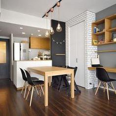 ちょこっとリノベで理想のデザインと素材感を実現の部屋 LDK