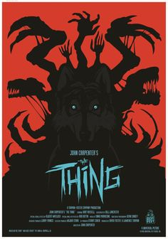 Some really cool alternative movie posters for John Carpenter's THE THING.
