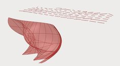Digital Fabrication _ Panels _ Unroll Surfaces