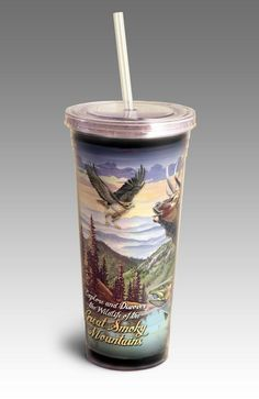 Lodge Series Whitetail Deer 24 ounce Double-Wall Acrylic Tumbler
