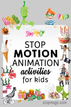 Making stop motion animation magic. Workshops both online & in Edinburgh. Animated greeting cards to send. Learn how to do stop motion with fun activities.