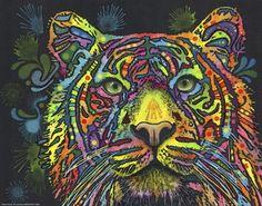 Tiger Fine-Art Print by Dean Russo at UrbanLoftArt.com