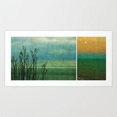 Seaside Art Print by Anne Staub - $19.76