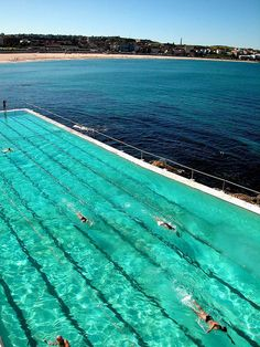 Bondi Beach, Australia ... the first place on my list of places to go after graduating!