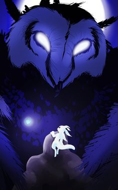 Ori and the Blind Forest fan art by Tumblr user fly-sky-high-arts