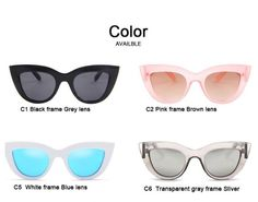 05cff91fa227 Details about Women s Retro Vintage Cat Eye Sunglasses