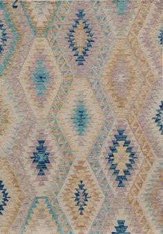 Brighten and liven up your living space with a bohemian-inspired rug, sure to stand out to your guests.