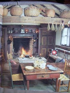 Want to decorate the interior of Marshal Hooker's Cabin something like this...