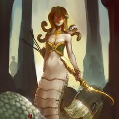 medusa queen homm III by soft-h on DeviantArt