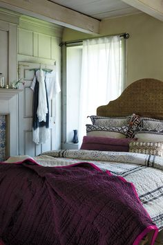 #Stitched #Kantha #Coverlet #Anthropologie