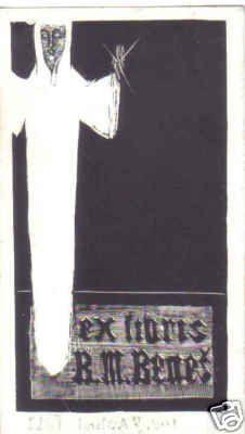 Ex Libris by Josef Vachal
