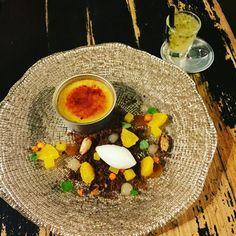 Orange Crème Brulee #sinterklaas #dessert #cremebrulee #orange #speculoos #caramel #cocktails #duindorp bes #duindoornbes #almond #ginger  #food #finedining #foodporn #eat #theartofplating #yummyinmytummy #chefsofinstagram #eatclean #countmemmoriesnotcallories #foodart #foodgasm #instafood #mecookmeeat #gastronomie #dontshootthechef #delicious #bestplating #brasseriehetgoudenkalf by dora_on_tour