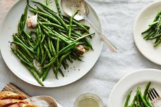 Michel Richard's Glazed and Glistening Haricots Verts  recipe on Food52