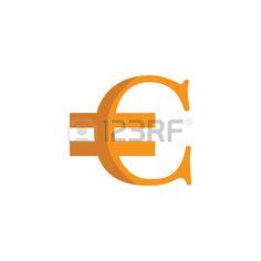 Signo euro Vectores