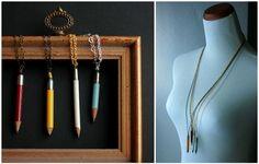pencil necklace