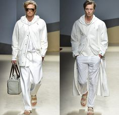 Trussardi 2014 Spring Summer Mens Runway Collection - Milan Italy Catwalk Fashion Show: Designer Denim Jeans Fashion: Season Collections, Runways, Lookbooks and Linesheets