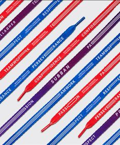 Montreal Canadiens — Tricolores laces on Behance
