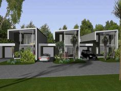 Townhouses Designs - House Plans and more house design