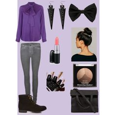 """purple"" by smile-laugh on Polyvore"