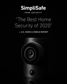 """Named the home security. News & World Report calls SimpliSafe, """"The Best Home Security of And here's why: ✔ It's whole-home protection. ✔ There's no contract. ✔ It costs just Hells Kitchen, News Logo, Solar, Best Home Security, Wireless Home Security Systems, Home Protection, Cool Gadgets To Buy, Home Safety, Home Gadgets"""