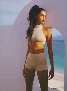 Yasmeen Ghauri - 90s Fashion