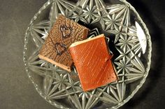 Small medieval leather books (full tutorial on our website)