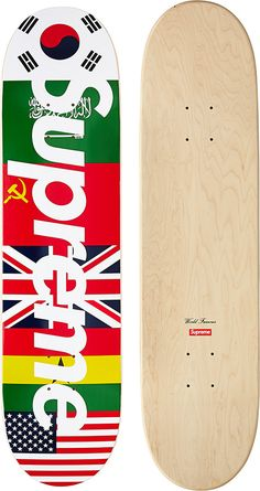 Supreme Flags Skateboard